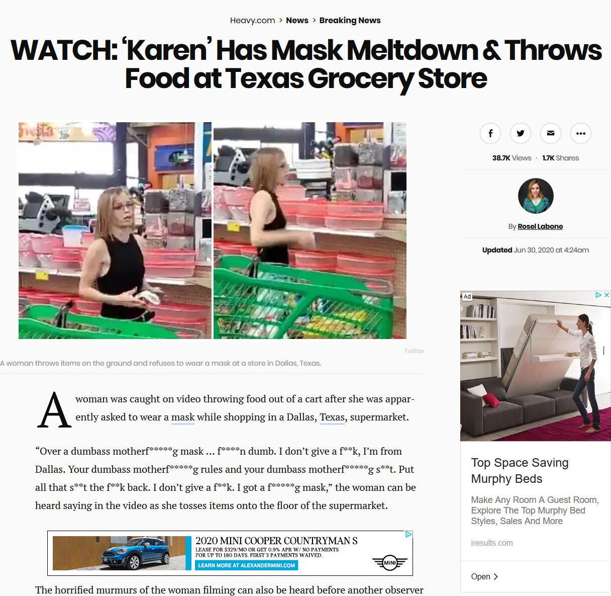 マスク着用を拒否して暴れる人達。