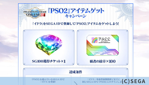 PSO2アイテム