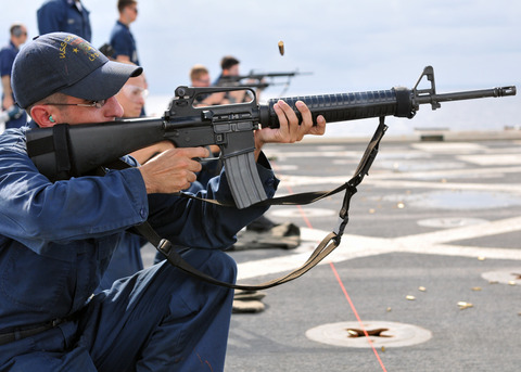 M16A3 in navy