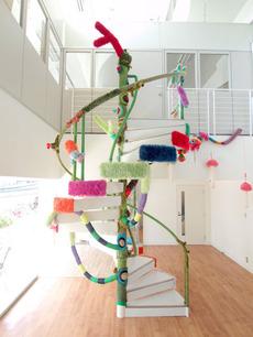 編み螺旋階段-203gow