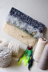 2015-サマー編みクラッチバッグ