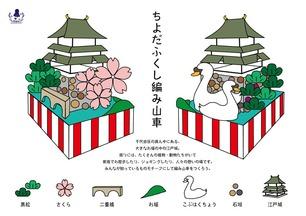 ちよだふくし編み山車-イメージ画-203gow