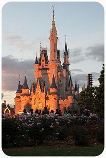 s-夕暮れのお城