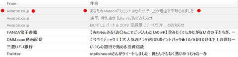 【警告】スマホは注意!!Amazon.co.jpを語るフィッシング詐欺メールにご注意。