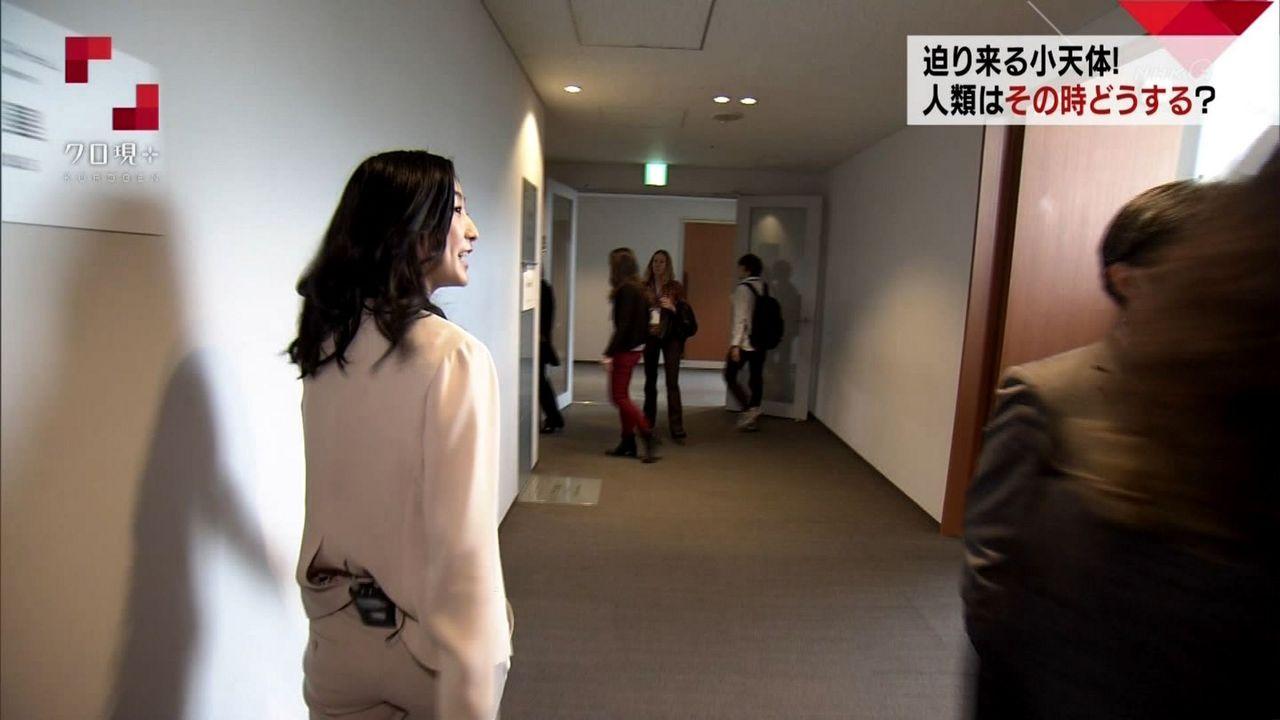 クロ現・田中泉さんのお尻ww形がきれいなセクシーおヒップwww