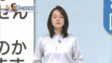 鈴木奈穂子アナ ぬぽこのくっきりおっぱい&ピタパン尻セクシー画像