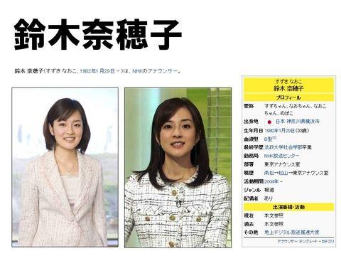 鈴木奈穂子 (1) : 女子アナのお尻