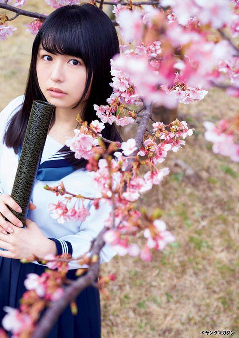 欅坂46・長濱ねるちゃんのグラビアが超絶かわいい セーラー服姿やエプロン姿も