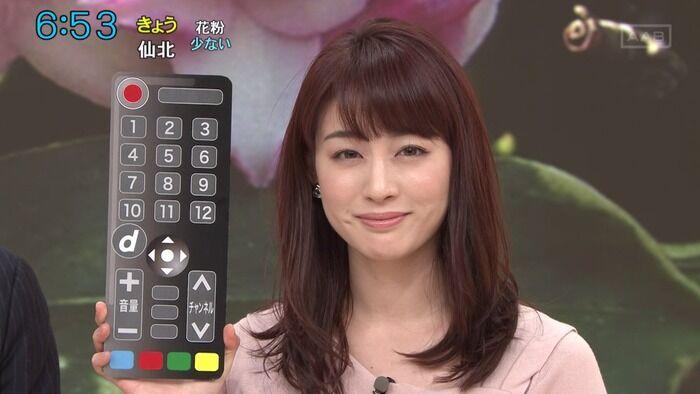 【画像】新井恵理那アナの胸すげえええええええええ