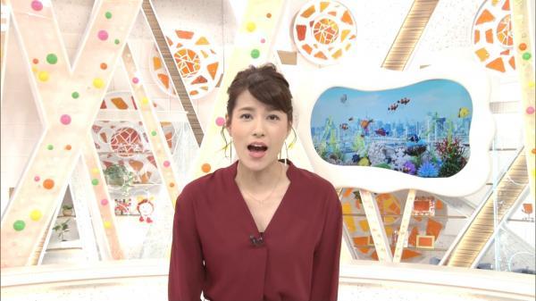 めざましテレビ 久慈敦子ちゃんのおっぱい 171021