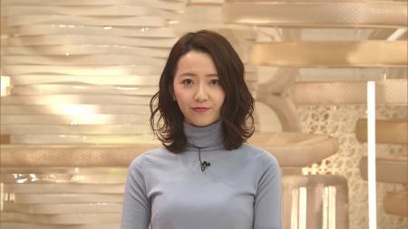 内田嶺衣奈 ニットおっぱいのふくらみ ライブニュースα 201130