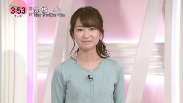 中島芽生(日テレ)180214 news every.