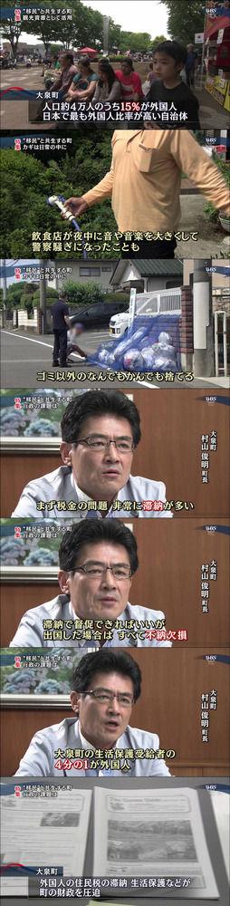 【画像】 日本で、移民を受け入れた地域の末路がコレwwwwwwww(画像あり)