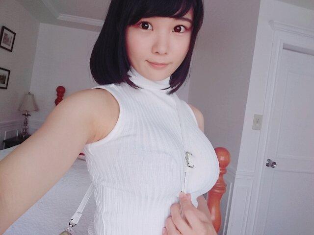 【画像】美少女の自撮り!胸も大きいし可愛いいい