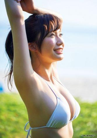 """【画像】""""リアル峰不二子""""小倉優香、「週プレ」でセクシーショット披露♪"""