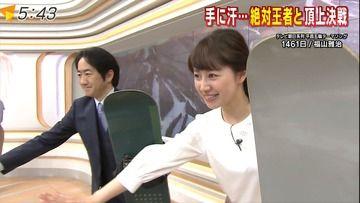 竹内由恵 林美沙希(テレ朝)180214スーパーJチャンネル