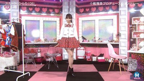 「Mステ」でAKB小嶋陽菜さんがエロすぎる放送事故
