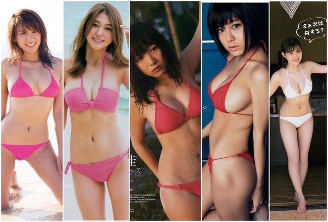 乳のデカい巨乳娘5人を集めてみたけど、どの娘が好き? part1(*´▽`*)ww×51P