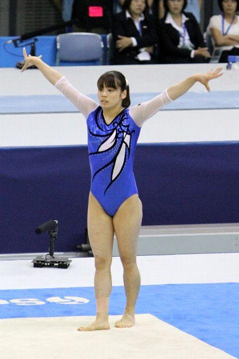 永井美津穂 選手・・・・かわいい体操選手。くいこみお尻8