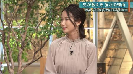 森川夕貴   エロおっぱい 報ステ 191009
