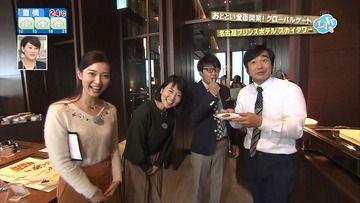 夏目みな美 田中優奈(CBC)171007花咲かタイムズ(CBC)