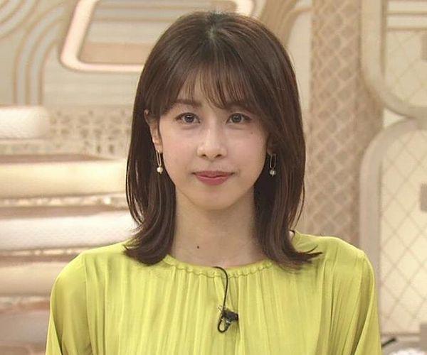 加藤綾子 胸のふくらみ