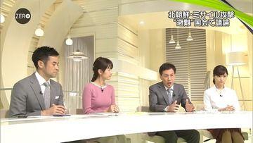 小正裕佳子 岩本乃蒼 田中瞳(日テレ)171130 NEWS ZERO