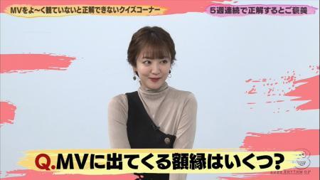 滝菜月 エッチな片乳 バズリズム 201127