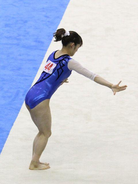 永井美津穂 選手・・・・かわいい体操選手。くいこみお尻7