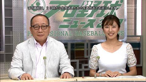 プロ野球ニュースの女子アナのおっぱいwwwwwww