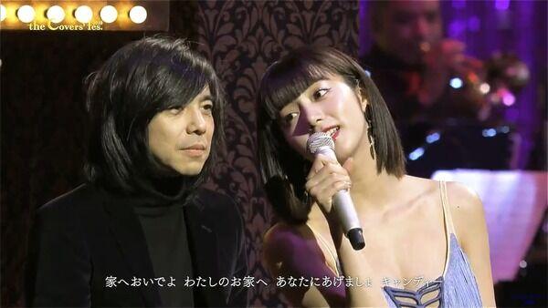 【砂像】池田エライザ、乳房が半分見えたどスケベ衣装で歌番組に出演し腋も見せまくってしまうwww