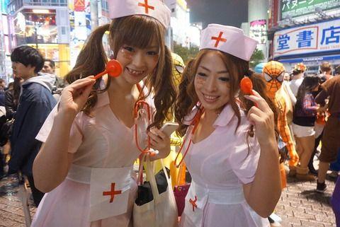 【画像】渋谷のハロウィンの様子をご覧ください