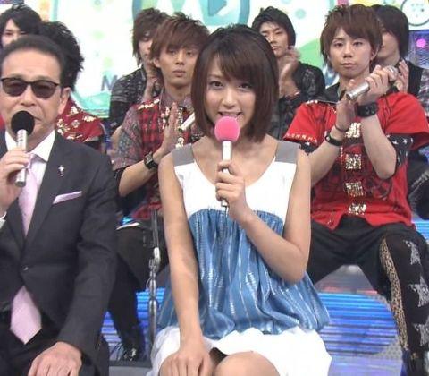 【画像】竹内由恵のパンツを見たくなるのは足がムチムチだからなんだな