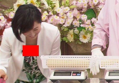 高島彩、「平成教育委員会2017」で胸チラ放送事故wwwwww