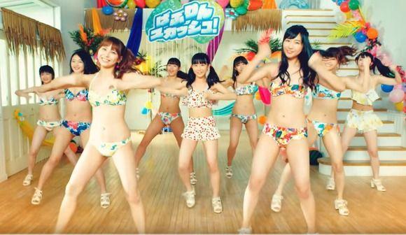 【動画】AKBの水着規制を横目にSUPER☆GiRLSが無規制MVを公開!!