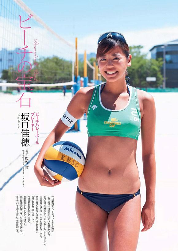 東京五輪に向けたビーチバレーのテスト大会でFカップ巨乳をゆっさゆっさ揺らして集客してる選手がいるぞ!