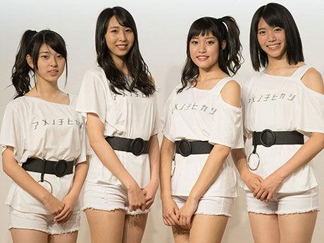 【画像】青森県弘前市のアイドル「りんご娘」が妙にエロいと話題に