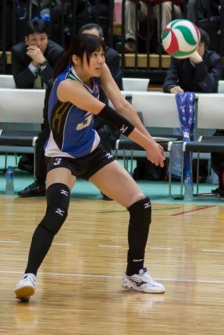 新鍋理沙 選手・・・美人バレーボール選手3