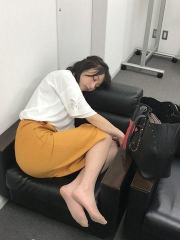 TBSの宇垣美里アナのスヤスヤな寝姿ワロタwwww