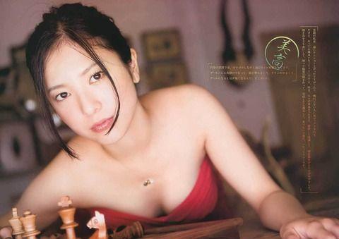 【画像】女優・吉高由里子の謎のエロさwwwww