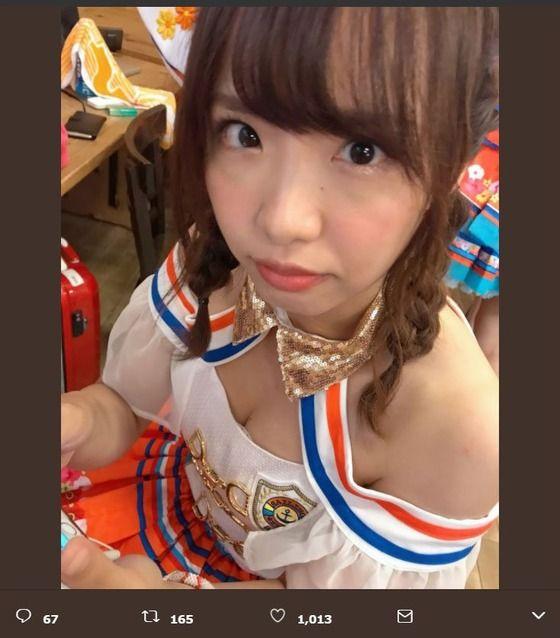 【画像】AKBGメンバー最年長・松村香織、28歳になる「アイドルとしてまだまだ頑張ります!」