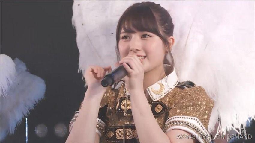 【AKB48】大和田南那、卒業公演で告白「握手会が本当に嫌いでした」 今後は女優を目指す