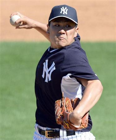 【野球】田中将大 2被弾7失点で3回途中KO降板