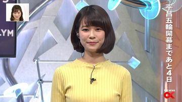 鈴木唯(フジ)180205 THE NEWS α