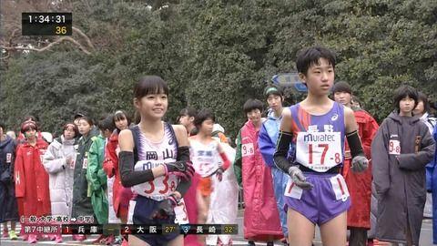 【gifあり】女子駅伝の岡山代表JCが美少女すぎると話題wwwwwwwwwwwwwwwwwww