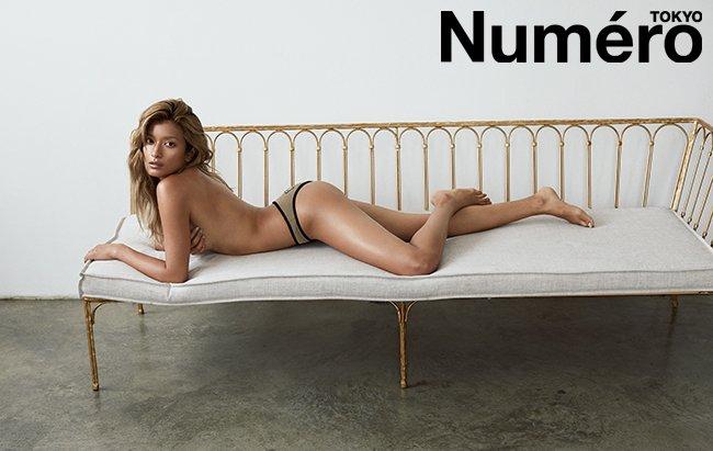 【画像】モデル ローラさん、初のセミヌードで圧巻ボディ大胆披露