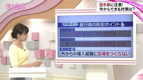 垣内麻里亜アナウンサー 着衣おっぱいエロ画像42枚!