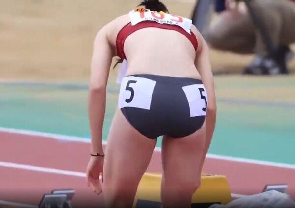 【画像、動画】陸上女子は何故あんなエロい格好で競技するのか?