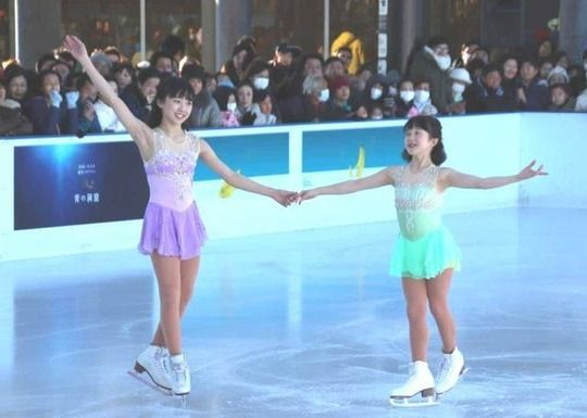 【画像】本田望結、五輪落選の姉・真凛にエール「家族みんなで一から力を合わせていきたい」