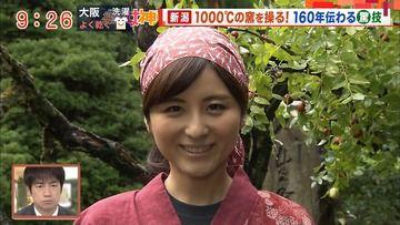 宇賀なつみ(テレ朝)171018モーニングショー(2/2) 継ぐ女神